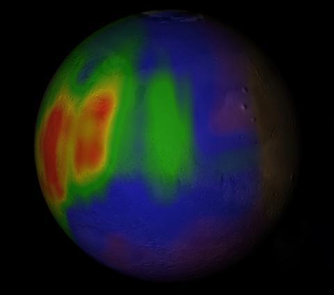 화성에 생명체의 증거가 되는 메탄이 존재하는지 그 여부를 놓고 4월 들어 상반된 연구 결과가 잇따라 발표돼 큰   ⓒNASA