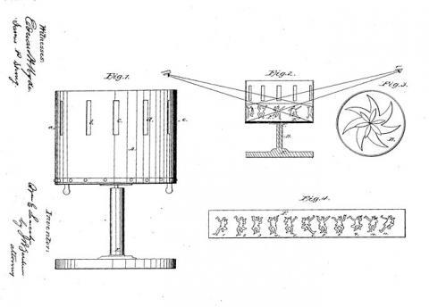 19세기 조에트로프 ⓒ public domain