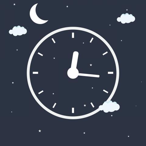 최근에 발표된 새로운 연구에 의하면, 야식에 자꾸 이끌리는 이유는 만성 수면부족 때문일 수도 있는 것으로 나타났다. ⓒ Public Domain