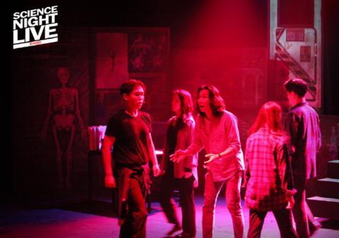 'SCIENCE NIGHT LIVE-리와인드'는 시간여행이라는 소재를 흥미롭게 다뤄 많은 이들의 호평을 얻었다.  ⓒ 한국과학창의재단
