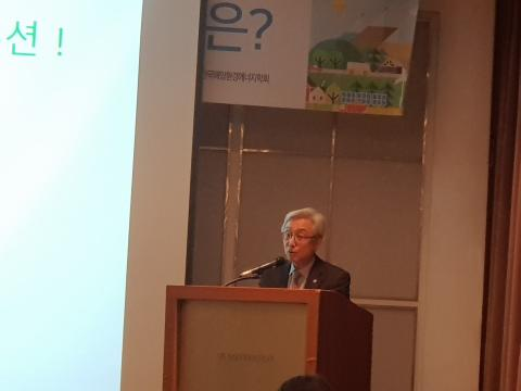 박상덕 수석연구위원은 원자력이 기후변화 대응에 최적의 설루션이라고 주장했다. ⓒ 김순강 / ScienceTimes