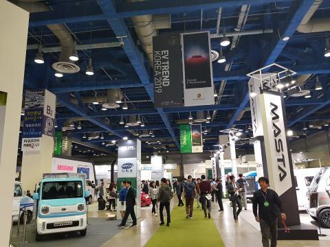 'EV 트렌드 코리아 2019' 전시회가 지난 2일부터 5일까지 나흘간 삼성동 코엑스에서 열렸다.