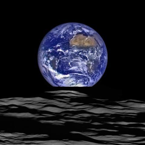 달에서 본 지구 ⓒ NASA