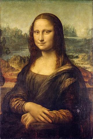 세계에서 가장 비싸고 많은 예술작품의 영감의 원천이 된 모나 리자. 다 빈치는 이 작품도 미완성으로 남겼다.  CREDIT: Wikimedia