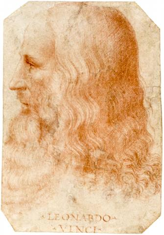 프란체스코 멜치(Francesco_Melzi)가 그린 레오나르도 다 빈치 초상화 CREDIT: Wikimedia