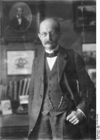 양자이론을 제안하고 발전시킨 공로를 인정받아 1918년 노벨 물리학상을 수상한 막스 플랑크. ⓒ German Federal Archive