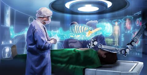 머지 않은 미래에 병원 수술실의 모습은 지금과 확연하게 달라질 것으로 보인다. 가상현실 기술이 수술실의 모습을 혁신시키고 있다. ⓒ Flickr