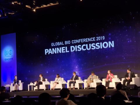 글로벌 바이오 콘퍼런스 첫째날 패널토론을 통해서 건강한 바이오생태계 조성을 위한 방안을 논의했다. ⓒ 김순강 / ScienceTimes