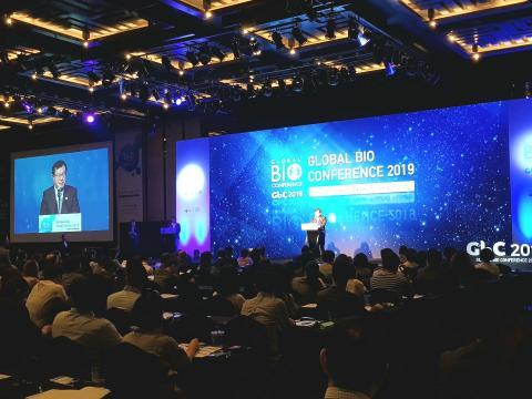 2019 글로벌 바이오 콘퍼런스가 '바이오 혁신, 새로운 미래'를 주제로 26일 개회식을 가졌다.