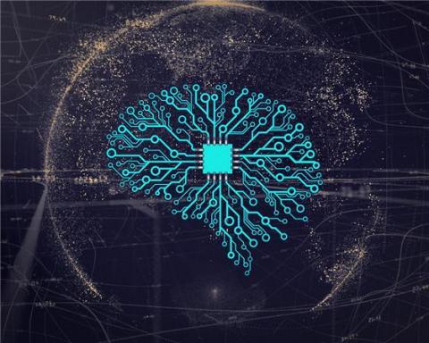 인간 신경망 구조를 본떠서 만든 DNN 알고리즘 ⓒ Flickr