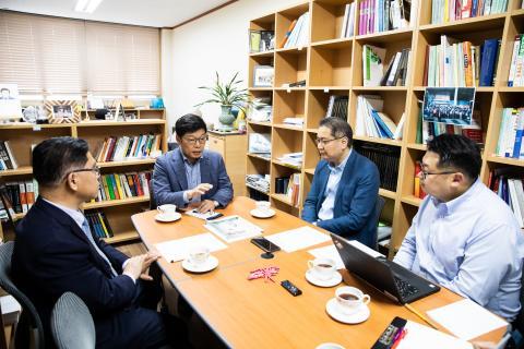 이정동 청와대 경제과학특별보좌관 특별대담 ⓒ한국과학기술단체총연합회