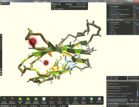 단백질구조 규명을 위한 온라인게임 폴딧(Foldit) ⓒ Selbst angefertigt.png
