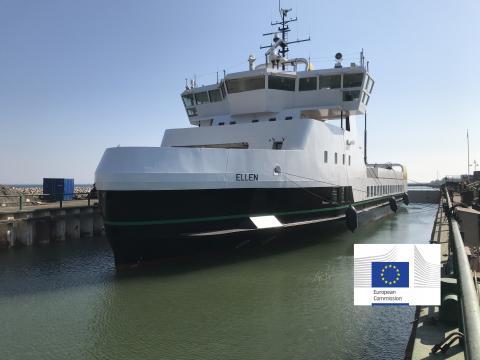 유럽연합은 2030년까지 100척의 전기추진 여객선을 운영해 총 10만~30만 톤의 이산화탄소 배출량을 감축하는 '이-페리' 프로젝트를 추진 중이다.