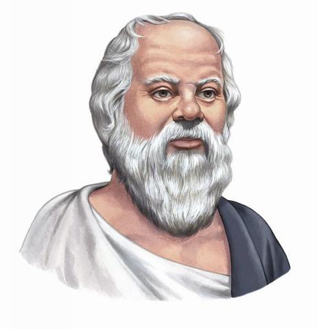 소크라테스는 사람들의 무지를 일깨워주기 위해 문답의 방법으로 사상을 전파했다. ⓒ Wikimedia Commons