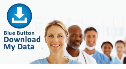 미국은 응급처치에 대응할 수 있는 개인 의료 기록 관리 서비스 '블루 버튼' 서비스를 실시하고 있다.