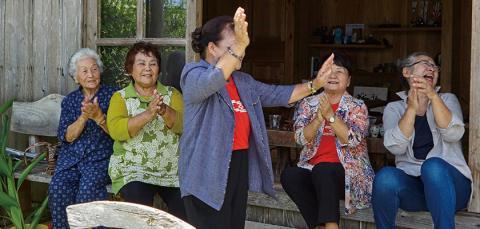 사회적 연결감은 장수의 비결 © 오키나와 관광청