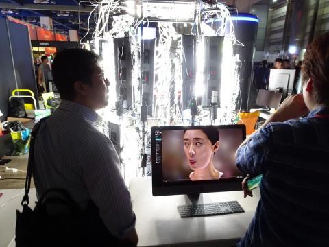HIFI 4D 스캐너 기업 플럭스플래닛이 개발한 4D스캐너. ⓒ 김은영/ ScienceTimes