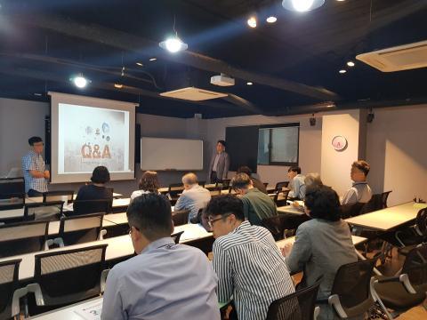 지난 26일 그린 빌딩 포럼이 '미세먼지와 실내대기질 관련 환경정책 및 IoT기술'을 주제로 열렸다.