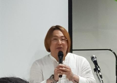 박외진 아크릴 대표는 '인간과 교감하는 감성 AI'를 주제로 강연했다.