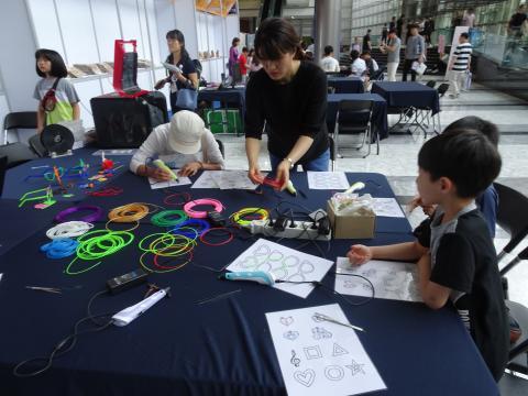 과학 원리 체험 교실에 참가한 어린이들. ⓒ 김은영/ ScienceTimes