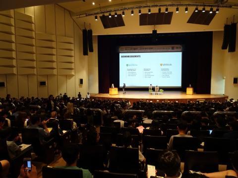 스트리클런드 교수는 지난 12일 방한, 서울대학교에서 과학자로서의 삶과 노벨상을 수상하기까지 겪었던 다양한 이야기를 공유했다. ⓒ 김은영/ ScienceTimes