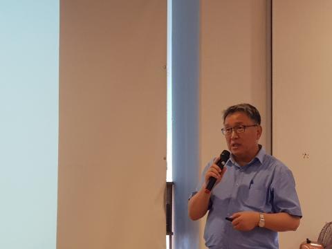 임덕순 선임연구위원이 '한국의 과학기술ODA 전략과 지역개발'을 주제로 발표했다.
