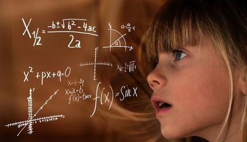 수학에 대한 선입견과 고정관념이 실제 여학생의 성적에 영향을 미치는 것으로 나타났다. ⓒ Pixabay