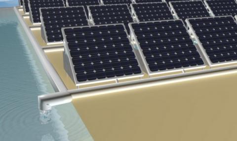 태양광 발전 과정에서 발생된 폐열로 해수를 담수로 만드는 시스템이 개발됐다 ⓒ King Abdullah University