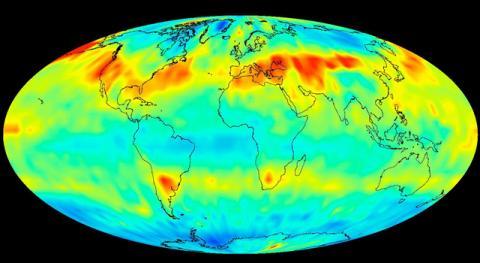 최근 이산화탄소 배출량이 급증하면서 산업화이전과 비교한 지구 평균온도 상승폭이 급속히 빨라져 당초 목표시기인 2050년보다 17년 앞당겨진 2033년 1.5도 상승이 이루어질 것이라는 연구 논문이 발표됐다. ⓒJet Propulsion Laboratory