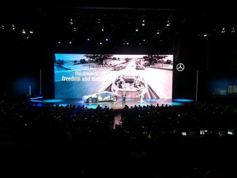 CES2015에서 미래형 자동차를 선보인 벤츠 ⓒFlickr