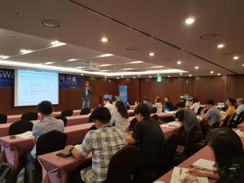 지난 21일 스카이파크 킹스타운 동대문점에서 정보통신산업진흥원 주관으로 '제조+SW/ICT 융합아카데미'가 열렸다. ⓒ 김순강 / ScienceTimes