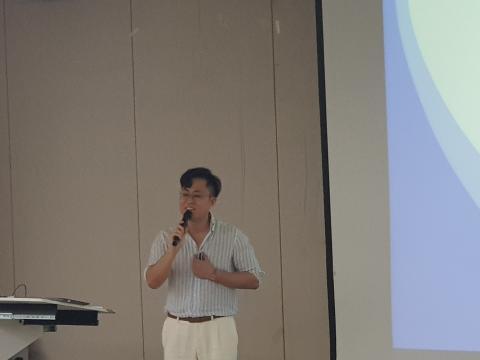 최태근 메디웨일 대표가 망막 이미지를 통해 질환을 알아보는 AI기술에 대해 소개했다.      ⓒ 김순강 / ScienceTimes
