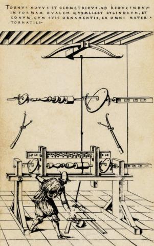 자크 베송 '기계들의 극장' 삽화