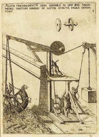 장 에라르 '수학적 기계적 도구들' 삽화