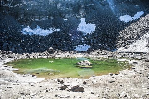2014년 8월에 촬영한 루프쿤드 호수 전경.  CREDIT: Wikimedia /Schwiki