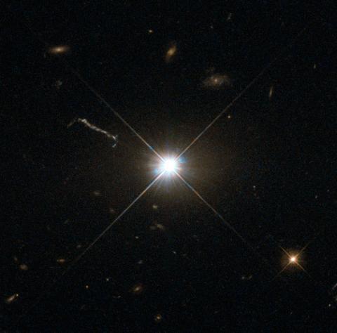 최초로 발견한 퀘이사 3C 273 Ⓒ 위키피디아
