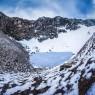 루프쿤드 호수 모습. 인도에서 나온 최초의 고대 게놈 자료 분석 결과 이 호수에서는 약 1000년 간격으로 다양한 혈통을 가진 사람들이 이곳에 와서 여러 사건에 의해 사망했을 것으로 추정된다.