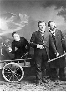 니체(맨 오른쪽)  ⓒ 위키백과