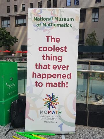미국 국립수학박물관(MoMath) 주최로 '뉴욕 수학 축제'가 펼쳐졌다. ⓒ (주)포디랜드