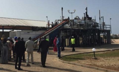세네갈에 설치된 옴니프로세서 설비 전경 Ⓒ Janicki-Bioenergy