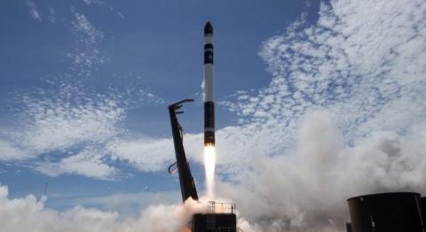 로켓랩이 쏘아올린 일렉트론 로켓은 소형 화물을 우주로 보내기에 안성맞춤인 소형 로켓이다 ⓒ Rocket Lab