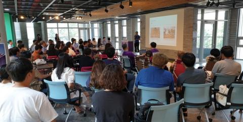 옥상 공유지 활용을 주제로 하는 포럼이 개최되었다 ⓒ 김준래/ScienceTimes