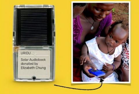 저개발 국가의 주민들을 교육시킬 수 있는 다양한 도구들이 개발되고 있어 주목을 끌고 있다 ⓒ URIDU.org