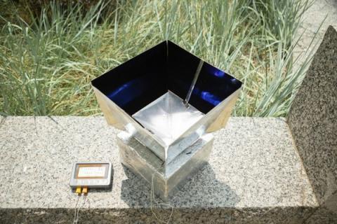 폴리머와 알루미늄을 이용하여 실내 온도를 낮출 수 있는 냉방 시스템  ⓒ Buffalo.edu