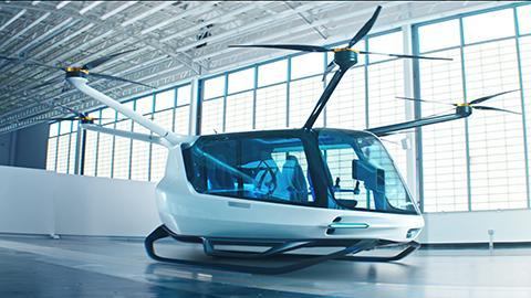 수소연료전지 항공기로는 최초로 공개된 '스카이' 콘셉트 모델 © Alaka'i Technologies