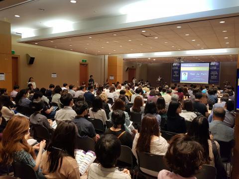 2019 이러닝 코리아 콘퍼런스가 5~6일 '디지털 시대, 교육의 미래를 여는 에듀테크'를 주제로 열렸다. ⓒ 김순강 / ScienceTimes