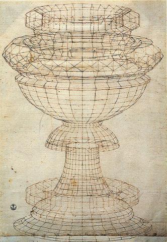 파올로 우첼로 'Vase in perspective'