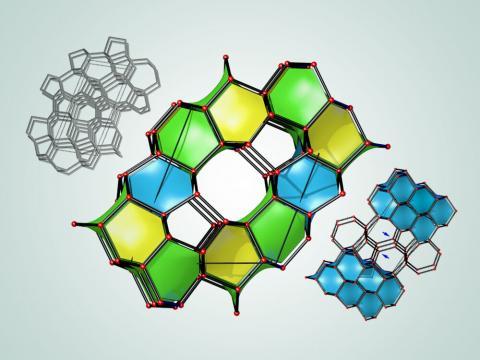과학자들이 다이아몬드보다 더 강한 소재를 설계하는데 성공했다. 사진은 뉴욕주립대 과학자들이 설계한 43종의 초경질 소재 중 3종의 소재 탄소결정 구조. 다이아몬드보다 더 단단한 것으로 확인되고 있다. ⓒBob Wilder / University at Buffalo