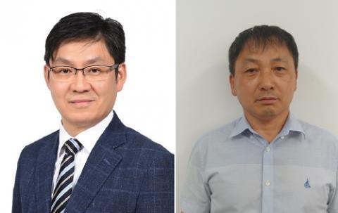 대한민국 엔지니어상' 9월 수상자 서형준 삼성전자 마스터(왼쪽)와 이기철 익성산업 공장장
