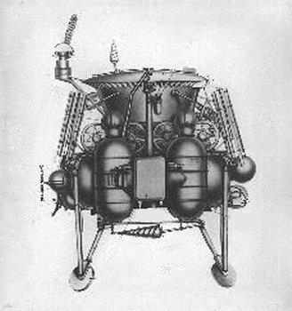 1970년에 달에 착륙 성공한 루나 17.  ⓒ 위키백과